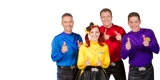 The Wiggles band; Author Kelly Corrigan; Comedian Jen Kirkman; Praise to Criticism Ratio