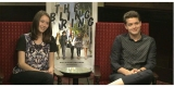 Actors Israel Broussard and Katie Chang talk about THE BLING RING